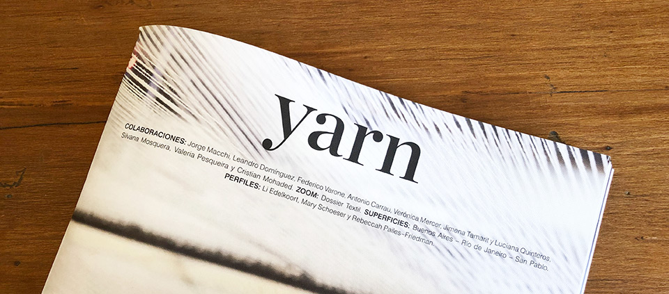 Introducing Yarn Magazine No. 2